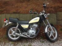 Lexmoto Vixen cruiser style motorbike 125cc MOT till 2018