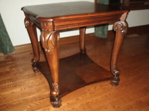 Real wood Ashley Norcastle collection table (2 available) -h
