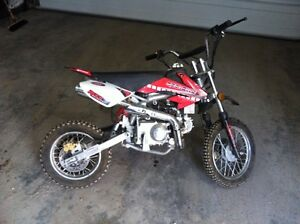 Youth 50cc bike and accessories