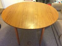 Solid wood butterfly dinning table