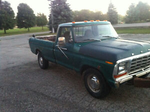 1978 Ford F250 for parts 2wd Kitchener / Waterloo Kitchener Area image 4