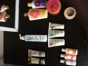 Body creams and lotions - Victoria Secret, OPI, Crabtree etc