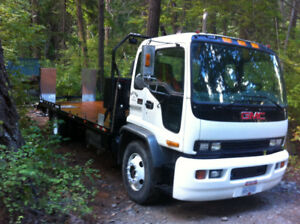 T7500 Tow truck flat bed