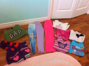 Girls size 6-8 fall/winter clothes