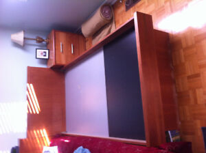 Single bed solid wood for sale