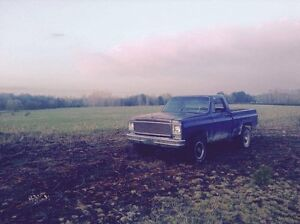 Looking for a square body pickup