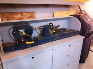 lathe and table