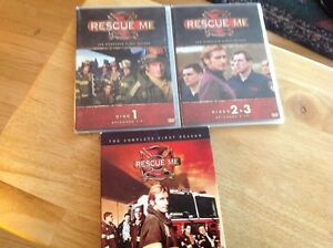 DVD - Rescue me first season West Island Greater Montréal image 1