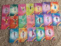 Rainbow fairies book collection