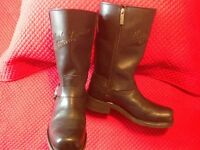 Ladies Harley leather Boots