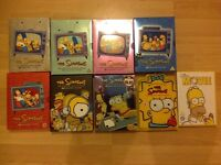 Simpsons boxsets DVDs joblot