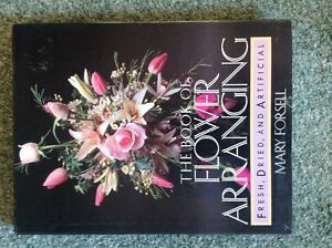 Silk Flowers and a BOOK on Flower Arranging