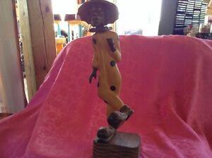 Vintage. Sculpture d'un clown fait en bois Gatineau Ottawa / Gatineau Area image 3