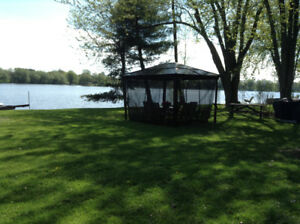 SERVICED  100 FT WATERFRONT LOT- CLOSE TO KARS