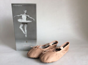 AMERICAN BALLET THEATRE GIRLS BALLET DANCE SHOES SLIPPERS SZ 12