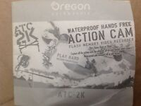 Waterproof action video camera
