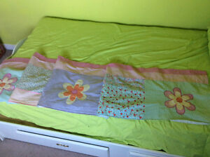 Little girls room window topper