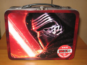 Star Wars Lunch Boxes-Metal Fan Expo Exclusive