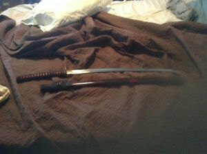full size Samurai Sword for sale-not a toy!