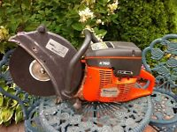 "Husqvarna k760 14"" gas powered concrete saw cut off"