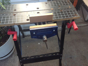 Mastercraft Wood Workers Clamp On Bench Vise