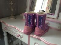 Pink Ugg Boots Size 2