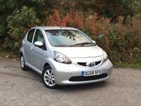 2008 Toyota Aygo 1.0 Platinum Silver 5-door hatchback ***only £20 road tax***