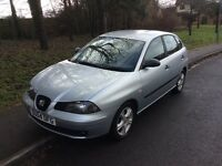 2004 Seat Ibiza 1.4 SX-1 owner-service history-12 months mot-great reliable value