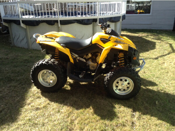 Used 2008 Can-Am Renegade