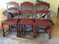 1943 National Table Company, Owen Sound dining room chairs