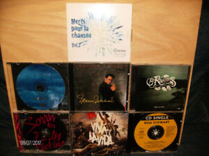 CD musique $1 chacun
