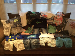 Like-new condition boys size 10 summer clothes
