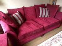 Sofa and chair suite