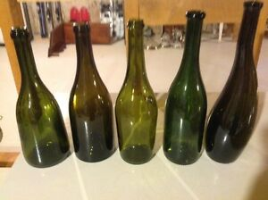 11 Different shaped wine bottles for that Special Craft