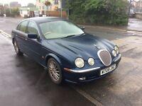 2000 Jaguar 4.0 S type v8 Automatic-80,000-October 16 mot-ideal runaround bargain
