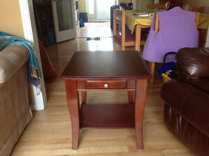 Two end tables for sale