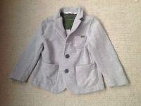 Boys grey dress jacket 18-24mths H and M