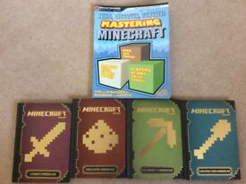 Minecraft book set x 5