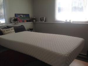 Twin memory foam mattress for sale