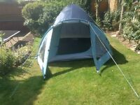 Adventure 2/3 man tent. Used only twice. VGC