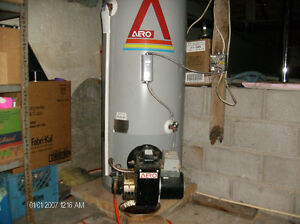 MUST SELL, OIL FURNACE, HOT WATER TANK, AND OIL TANK