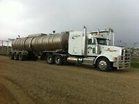 CLASS 1 OILFIELD DRIVERS: YEAR ROUND PRODUCTION FLUID HAULS