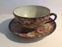 Vintage Chinese Bone China tea cup and saucer.