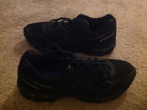 ASICS and NIKE running shoes, size 11 and 8.5/6
