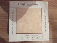 British ceramic floor tiles