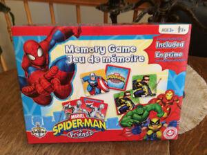 MÉMOIRE  Spider Man & friends 3 ans +Autres annonce no 436431506