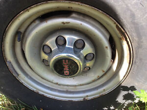 2x16 in 8 HOLE GMC TRUCK RIMS