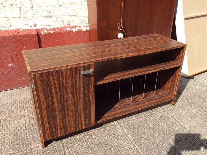 Rosewood hifi cabinet