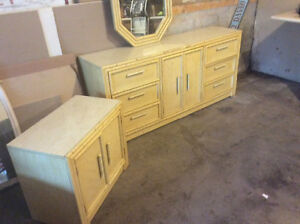 Yellow 4 piece bedroom suite