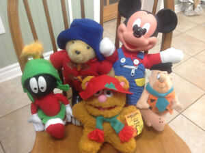 Collectable plush toys